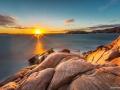 Solnedgång från Galleberget