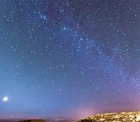 Stjärnhimmel över Rinkenäs