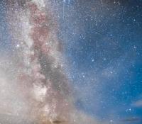 Vintergatan över Stångehuvud