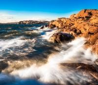 Vatten, vind och klippor